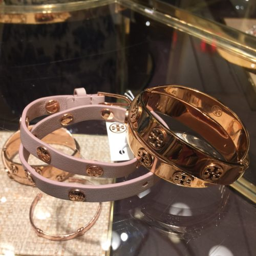 Rose Gold Tory Burch Bangle