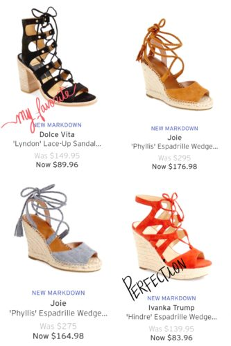 Nordstrom Clearance Sale Shoe Picks