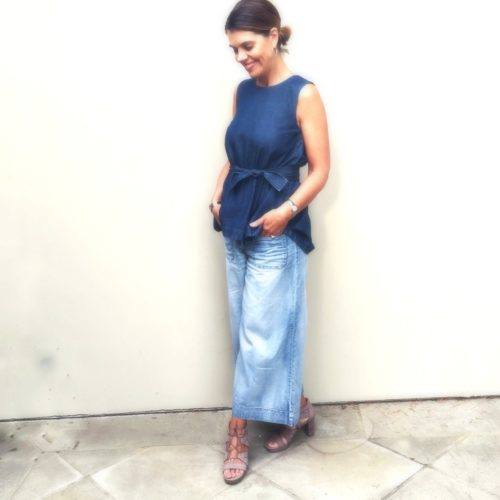 What I Wore May : Denim outfit Ideas over 40