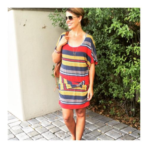 Styling a T-Shirt Dress on Ask Suzanne Bell