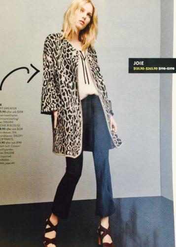 Joie Berit Animal Print Sweater | Nordstrom