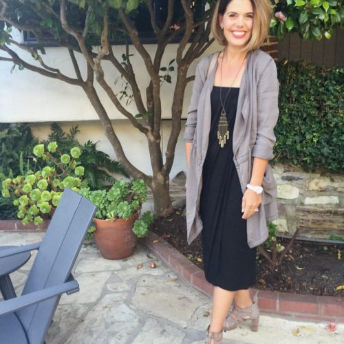 Anthropologie Morgan Trench on Ask Suzanne Bell
