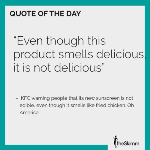 The Skimm quote of the week
