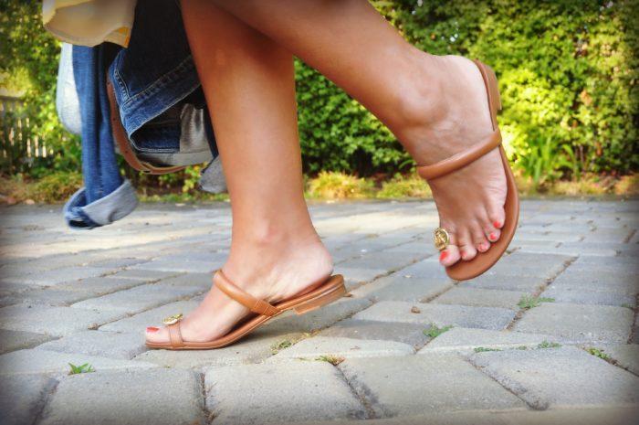 Michael Kors Sandal- Summer Dress Post