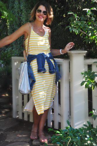 Stripe Dress post