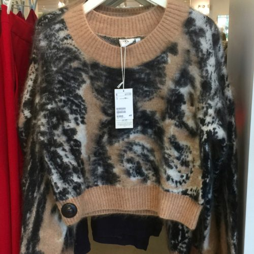H&M Animal Print Sweater | Fall Looks for Less on AskSuzanneBell.com
