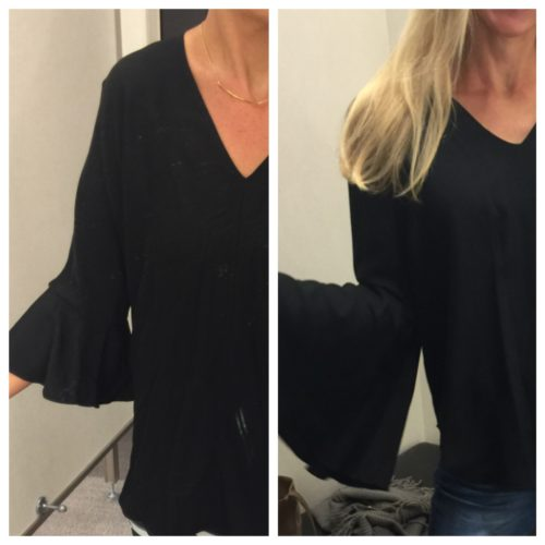 Bell Sleeve Tops reviewed on AskSuzanneBell.com