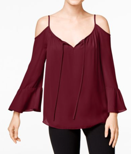 INC Bell Sleeve Top | Bell Sleeve looks on AskSuzanneBell.com