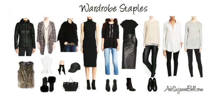 Nothing to Wear? You May be Missing a Few Key Pieces | Wardrobe Staples