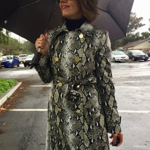 Rainy Day Look: Grab a Trench!