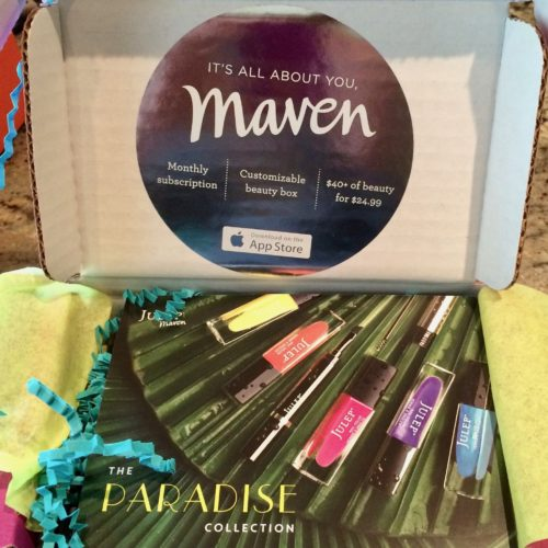 Julep Maven Subscription Box Review