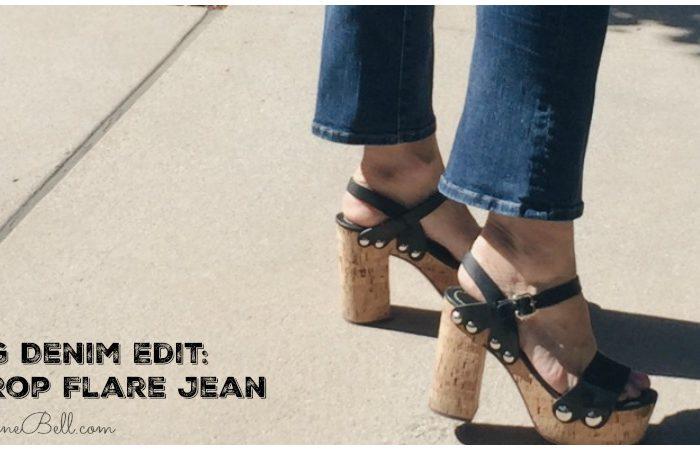 Spring Denim Edit: The Crop Flare Jean