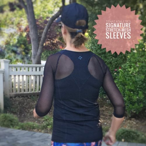 TENAZ ATHLETICS - A new workout top for women over 40