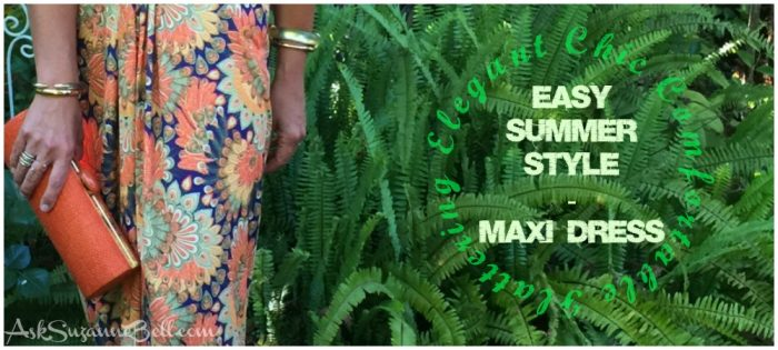Comfortable Elegance – The Summer Maxi Dress (and you won't believe the price!)