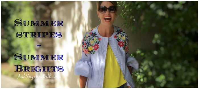 Summer Style – How to Wear Brights and Stripes