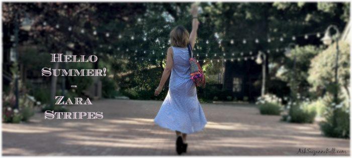 Summer Style – Zara Stripe Maxidress