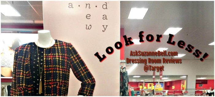 Target Dressing Room Reviews – Look for Less With Who What Wear and A New Day