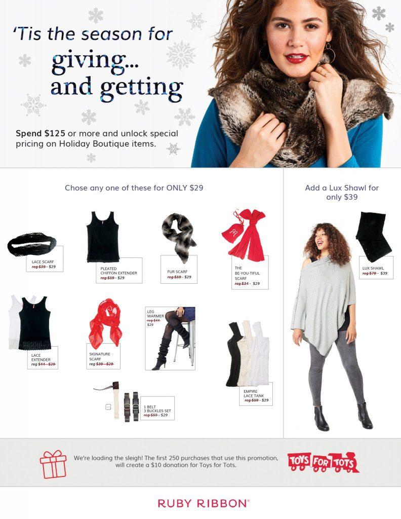 Ruby Ribbon December Promotion
