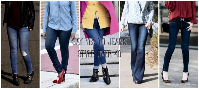 Styling Denim Over 40: 11 Bloggers Share Their Favorites + Style Tips for Your Body Type