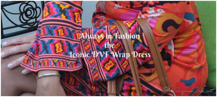A Dress for All Seasons – Styling the Iconic DVF Wrap Dress
