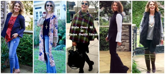 What I Wore: 15 Winter Outfit Ideas