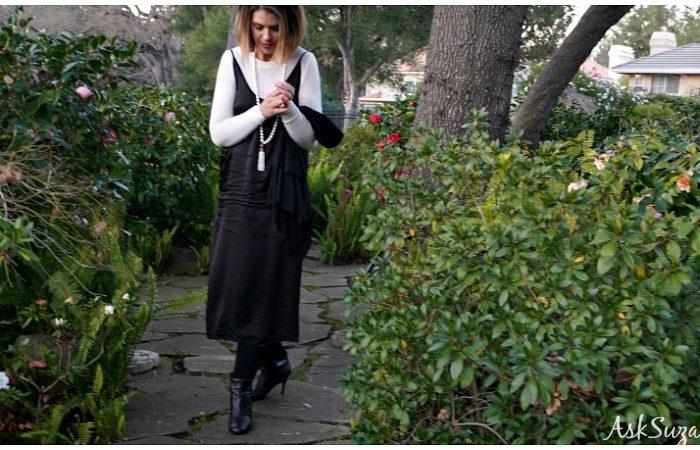 Wardrobe Essentials: One Black Dress 7 Ways