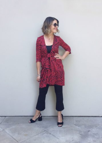10 + Red Hot Outfit Ideas | Wrap Dress
