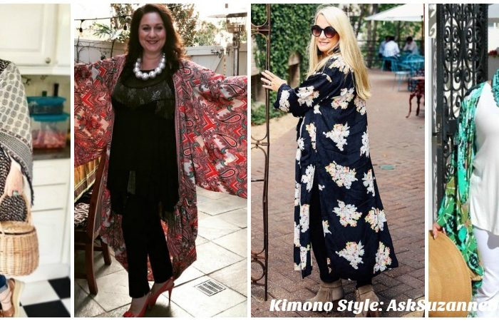 Kimono Style Part 2: Five 40 Plus Style Bloggers, 12+ New Looks and Video Tutorial!