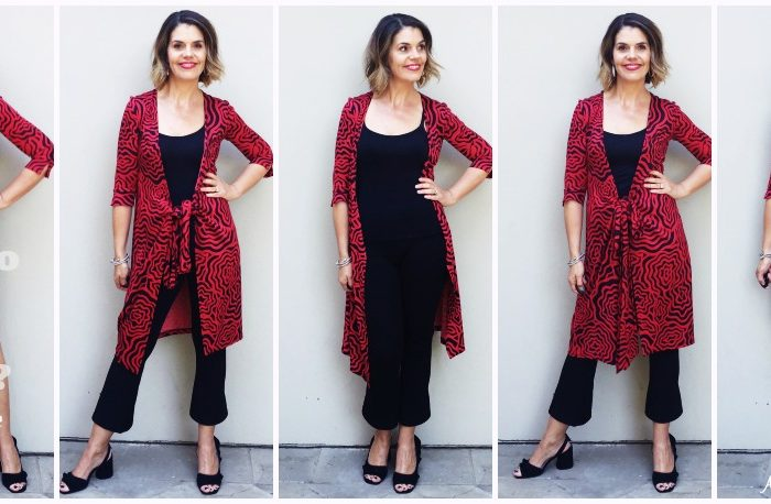 How to Wear a DVF Wrap Dress as a Tunic Top or Cardigan