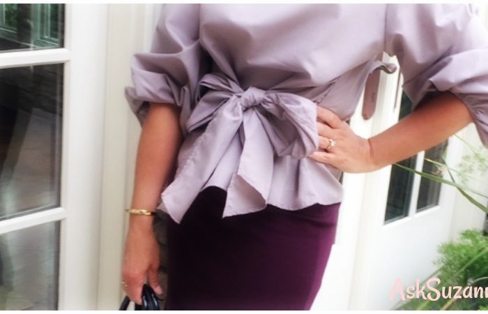 Style Diaries: Styling This Season's Tie Front Blouse
