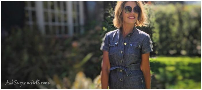 Styling a Denim Dress + 10 Ways to Wear Denim this Summer