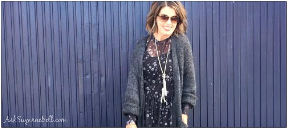 First Look At Fall: Styling The Oversized Cardigan