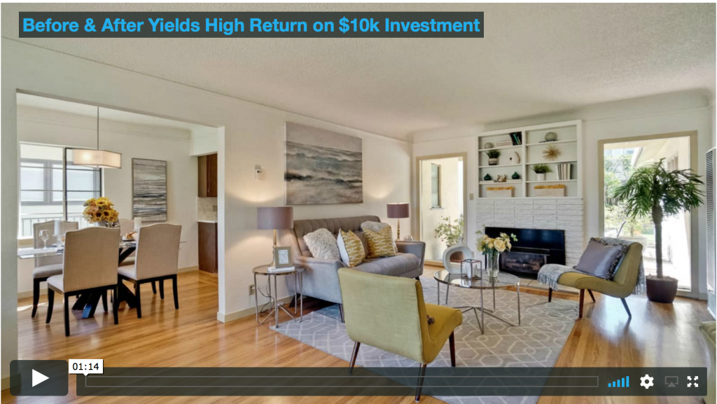 View Our Most Recent Before/After Market Prep Video