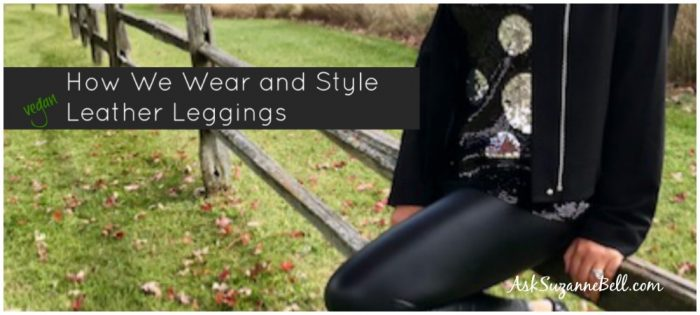 5 Bloggers Share How to Wear and Style Faux Leather Leggings