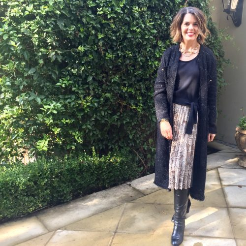 Style Over 40 - How to Style the Long Cardigan