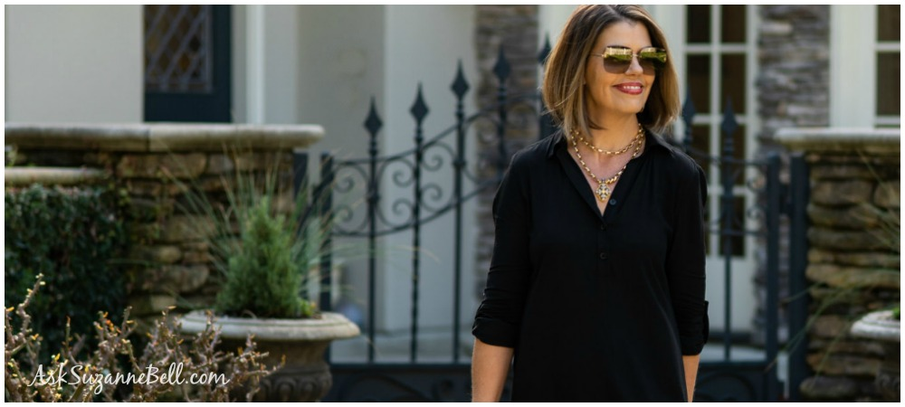 10 Shirtdress Outfit Ideas | Flattering Tops For Women Over 40