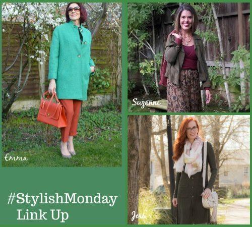7 Shades of Green | #StylishMonday Link Up