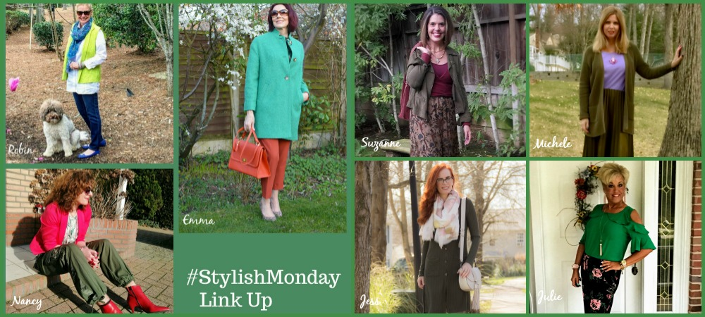 7 Shades of Green | Stylish Monday Link Up