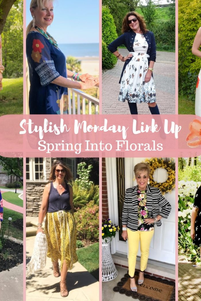 How We Style Floral Prints | A Stylish Monday Link-Up