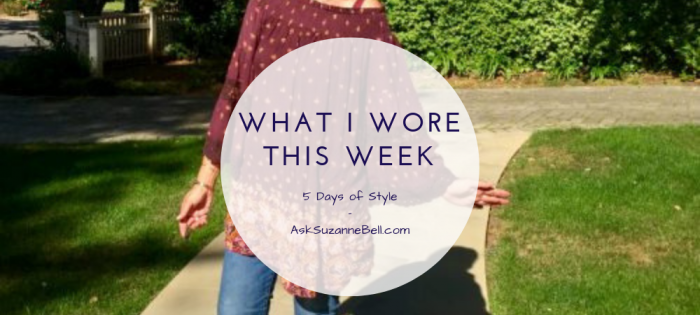 What I Wore This Week - 7