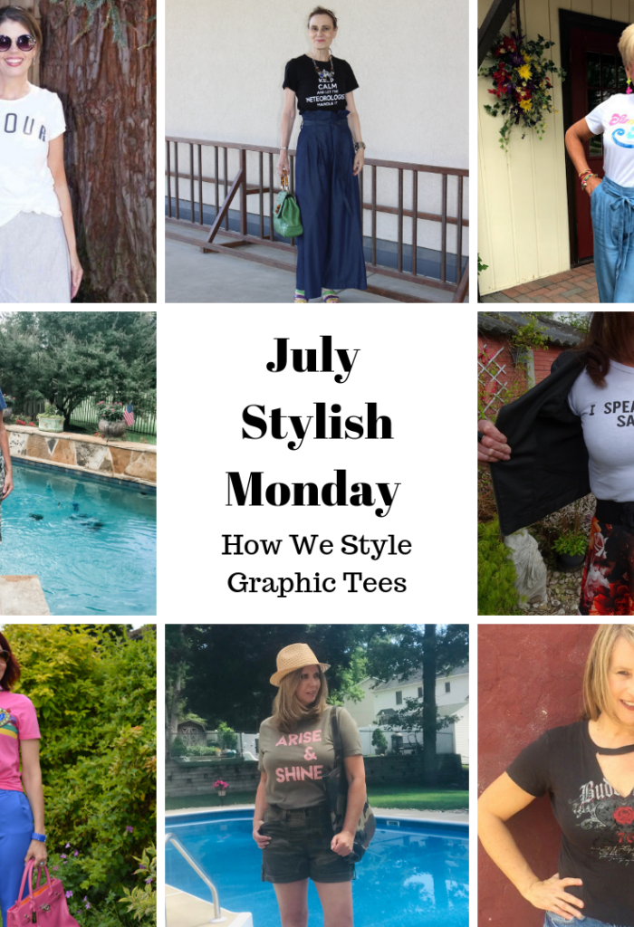 Styling the Graphic Tee | A Stylish Monday Link Up