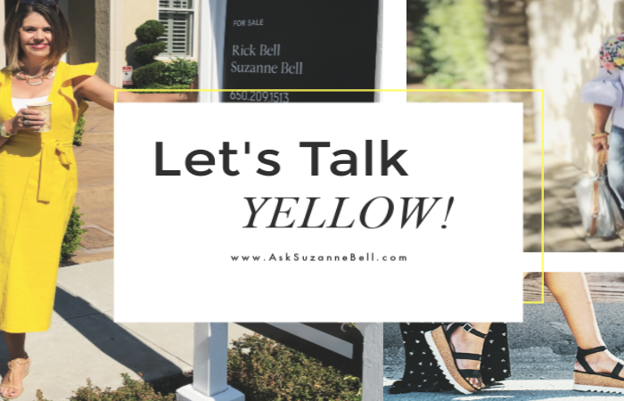Hello Yellow! 6 Ways To Wear This Seasons Hottest Color