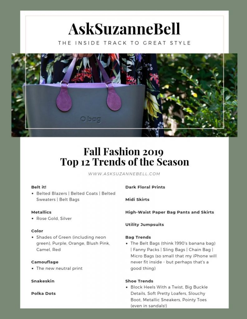 Fall Fashion 2019 | 12 Trends Watch