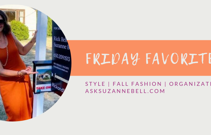 Friday Favorites | Fall Style Tips, Organization, Booties and Cashmere