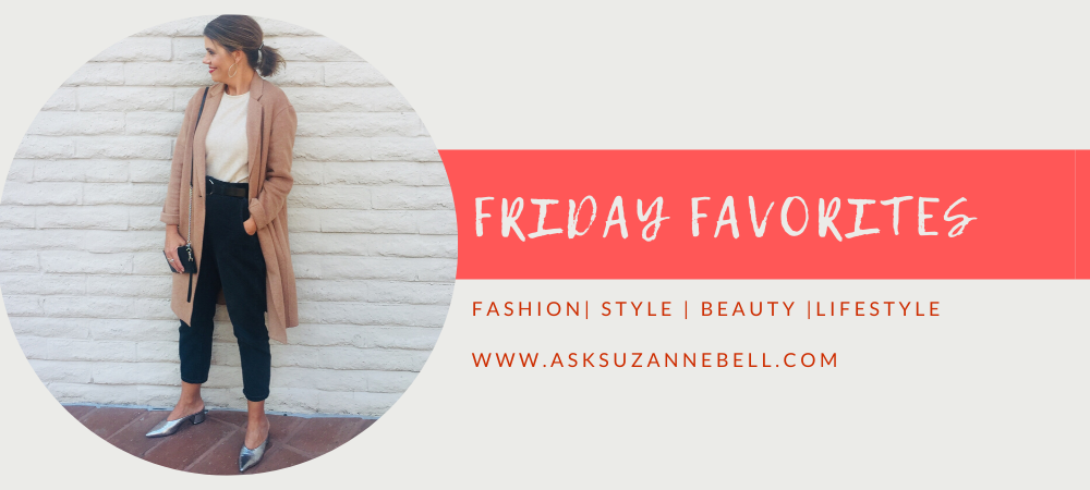 Friday Favorites | Styling A Camel Coat, Beauty Finds, Holiday Inspiration