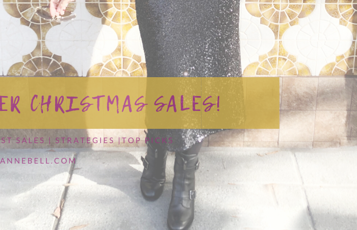 2019: After Christmas Sales!