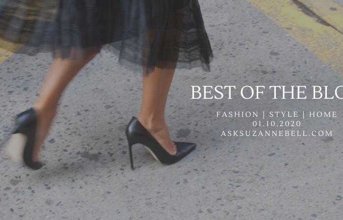 Best Of The Blog | Week of 1.10.20