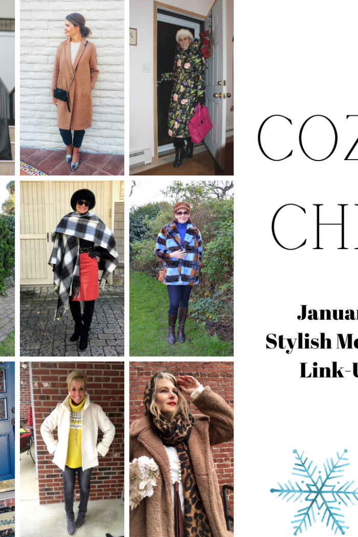 Cozy Chic Outfit Ideas | January 2020 Stylish Monday Link-Up