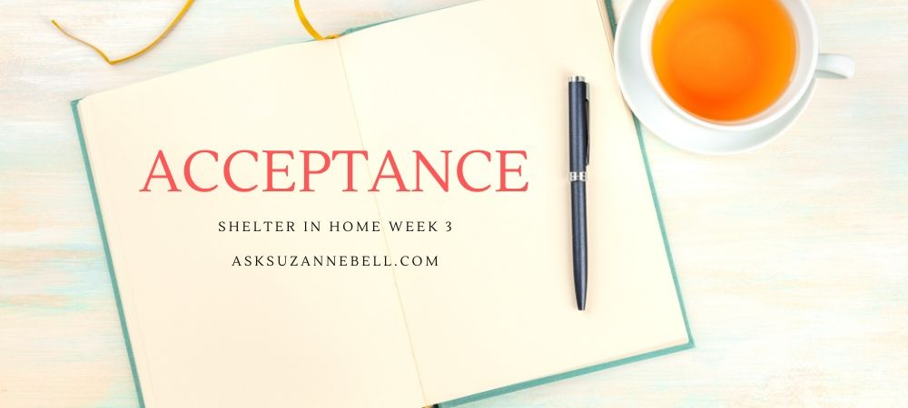 Shelter In Home Week 3 | Acceptance, Compromise + Friday Favorites