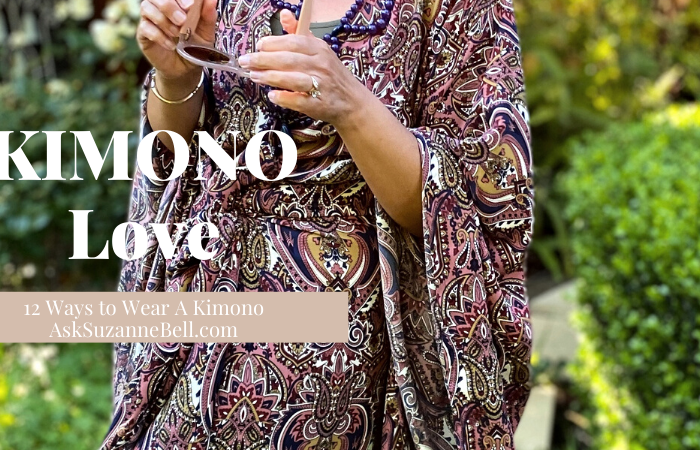 12 Ways to Rock Your Kimono